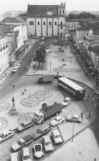 Década de 90 - Praça da Sé