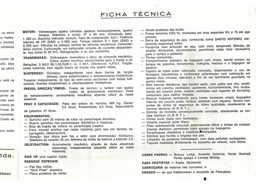 Folheto-Gurgel-Xavante-XT-1972
