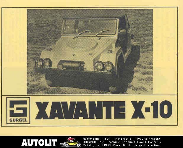 XavanteX-10-1975-1978