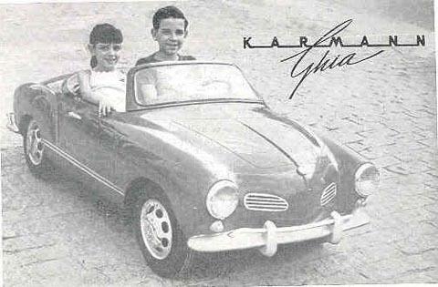 Folheto de divulgação Gurgel Karmann-Guia - Macan. Enviado por: Walfredo Gustavo - Antigos de Itaipú/RJ / Fonte: desconhecida/internet